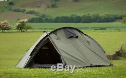 Snugpak Bunker Tent Expedition Camping Shelter, 3 Man Olive