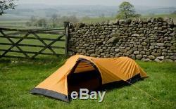Snugpak Journey Solo Backpacking & Camping Tent, 1 Man Sunburst