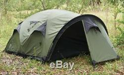 Snugpak The Cave Tent 4 Man Camping Shelter, 4 Person Olive