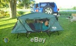Solo Tent Cot Oversize 1 Man One Person Camp Military Hiking Fishing Hunting New
