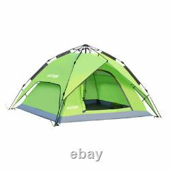 Special 3-4 Man Waterproof Automatic Instant Pop Up Family Tent Camping Hiking