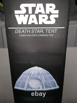 Star Wars The Death Star 3 Man Dome Tent Brand Sealed Camping Disney