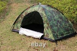 Sutekus tent camouflage compact camping solo small disaster emergency outdoor su