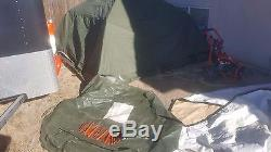 Tactical Military Civilian Soldier Crew Tent 5 Man 12x12 Approx Camping Hunting