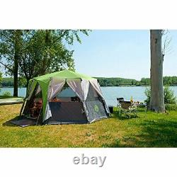 Tent Octagon, 6 to 8 Man Festival Dome Tent, Waterproof Family Camping