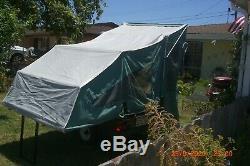 Tent Trailer KwiKK Kamp camp trailer Light Weight 2Man with Standing room entry