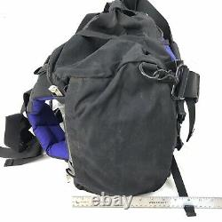 The North Face Large Duffel Bag Base Camp RARE Design Tent Backpack Carry On 22