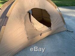 USMC Combat Tent 2 Man Diamond Brand Tactical Camping Shelter Marine Corps