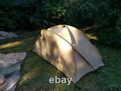 USMC Marine Corps Tent, 2 Man Combat Tent, Military Grade Tent, Camping Tent, Bu