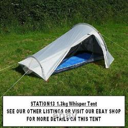 Ultralight Backpacking Tent 3 Season 1 Man Tent Camping YELLOW 1.8 kg