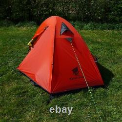 Ultralight Camping Tent 1 Man Backpacking Tent 3 Season Just 1.8kgs RED