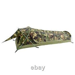 Ultralight Single Person Bivy Tent for Camp Waterproof 1 Man Tent Camouflage