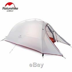 Ultralight Tent Camp Equipment Nylon Upgrade 2 Man Travel Winter Camping Tent