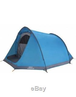 Vango Voyager 400 Outdoor Tunnel Tent 4 Persons Man Spacious Family Camping