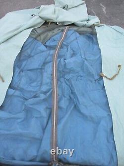 Vintage 1970's Morsan / Campmor 3 Man 7'x 7' Canvas Umbrella Camping Tent Nice