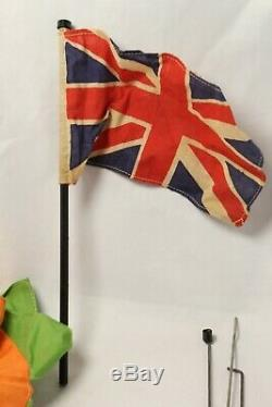 Vintage Action Man Base Camp Tent Union Jack Flag Field Gear Cooking 1st Ed RARE
