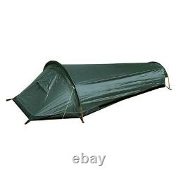 Waterproof One Person Man Tent Ultralight Folding Camping Hiking Outdoor Beach