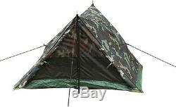 Woodland Camouflage Camping Hiking Scouts 2 Man Trail Tent 3808