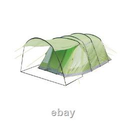 Yellowstone 4 Man Camping Tent With 2 Side Doors Green