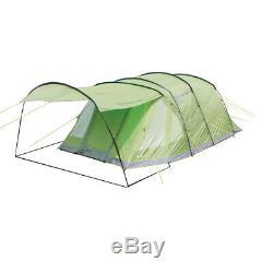 Yellowstone 6 Man Camping-Zelt mit 2 Seitentüren Grün