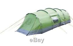 Yellowstone Lunar 6 Man Camping-Zelt mit 2 Seitentüren Grün