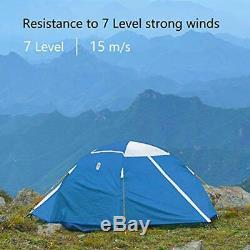 Zenph Tent, Backpacking Camping Tent, 2 Man Easy Setup tent, Waterproof PU5000mm